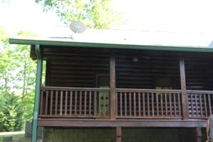 Log Cabin Restoration | Log Cabin Wash, Caulking And Staining